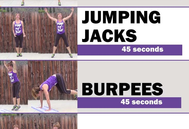 quick & easy cardio circuit workout