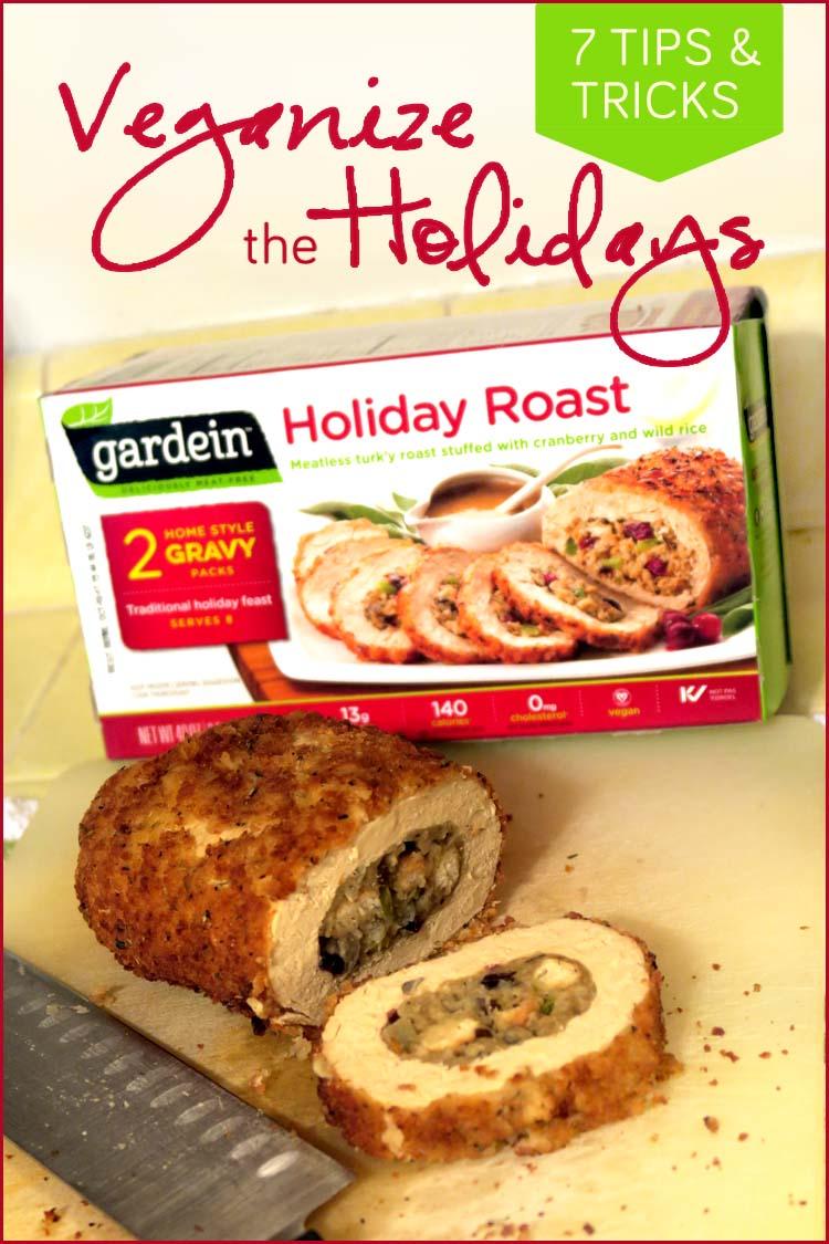 vegan holiday dinner gardein holiday roast