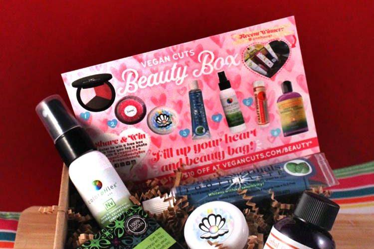 VC cruelty free beauty box feb 2017