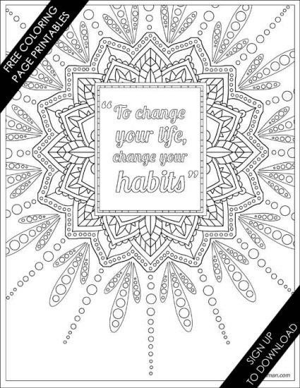Using Coloring As Meditation Free Printable Coloring Page Di Hickman