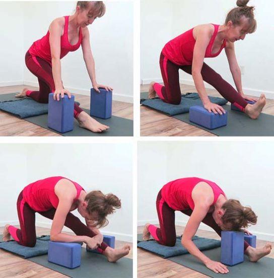 half split yoga sequence