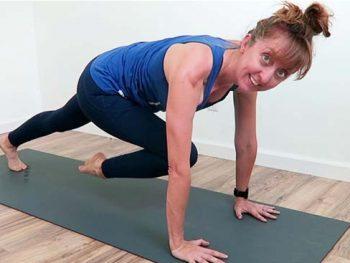15 minutes yogalates workout