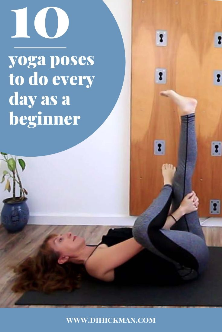 Sharing 10 yoga poses to do everyday as a beginner.  You should do these everyday to increase flexibility and ease into an at home daily yoga practice. Includeds10 minute gentle slow flow class.