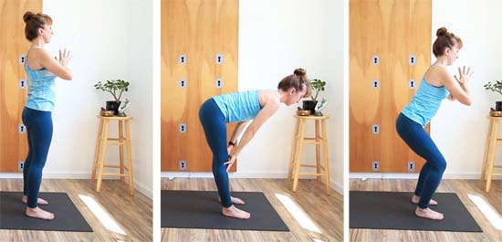 10 minute standing yoga sequence