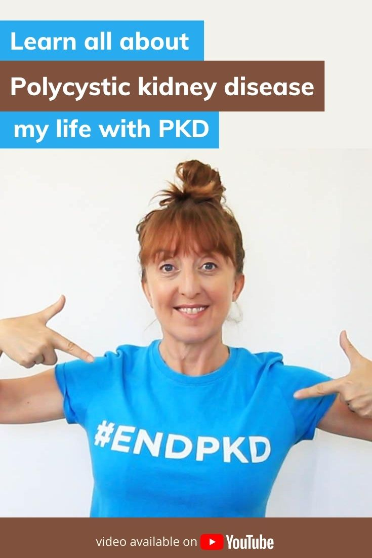 My personal journey with Polycystic kidney disease. PKD is the 4th leading cause of kidney failure, and the most common life threatening gentic disease.  Life with PKD means that 50% by age 50 experience kidney failure. Raising awareness this PKD day.