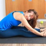 5 minute hamstring release with tennis ball