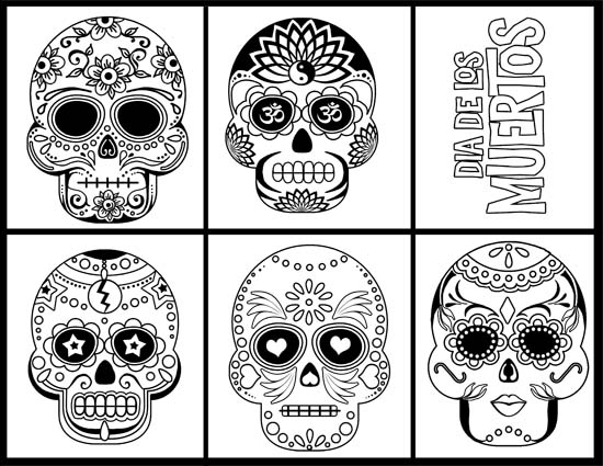 Free monthly Coloring page for adults. Sign up to get a new printable in your inbox each month. October 2020 features Dia De Los Muetas sugar skull designs. Each month has a quote and themes range from geometric shapes, to flowers and mandala. Whether you are an adult coloring to reduce stress or aid meditation, this is a fun way to get creative. Just print and color.