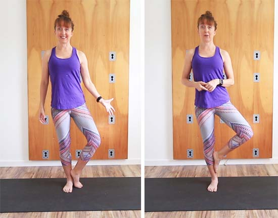 tree pose variations