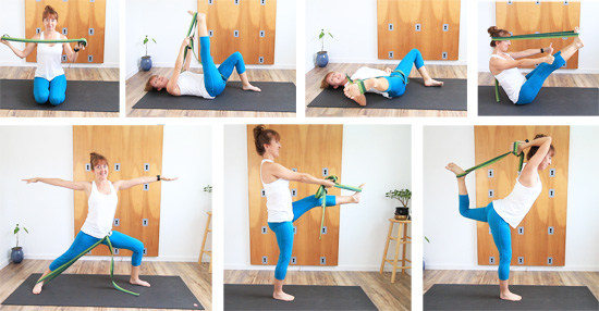 yoga equipment for home strap