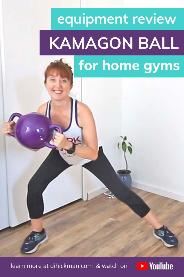 Equipment review, kamagon ball for home gyms. Learn more at dihickman.com & watch on YouTube