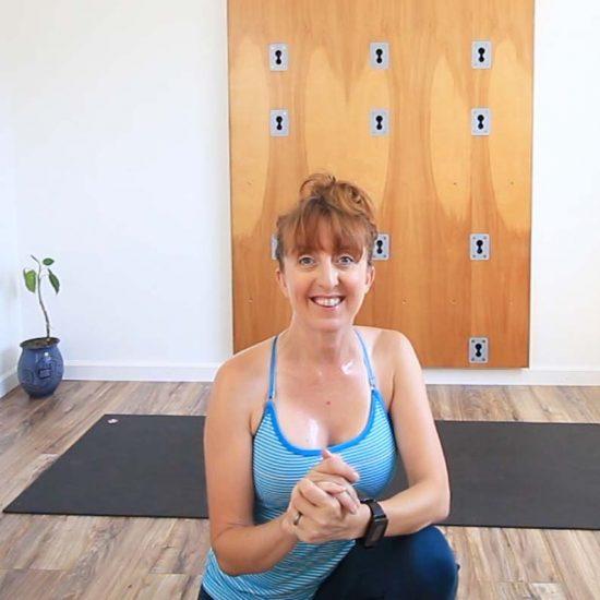 yoga warm up di