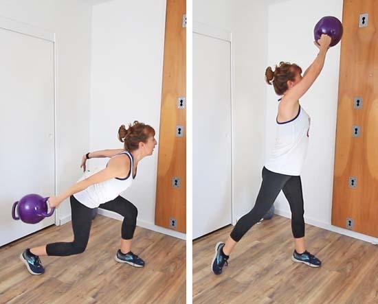 kamagon lunge throw exercise