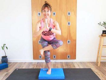 yoga balance pad chair