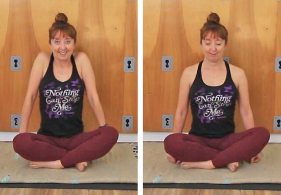 Photo of Shoulder Mobility Exercises scrunch and release