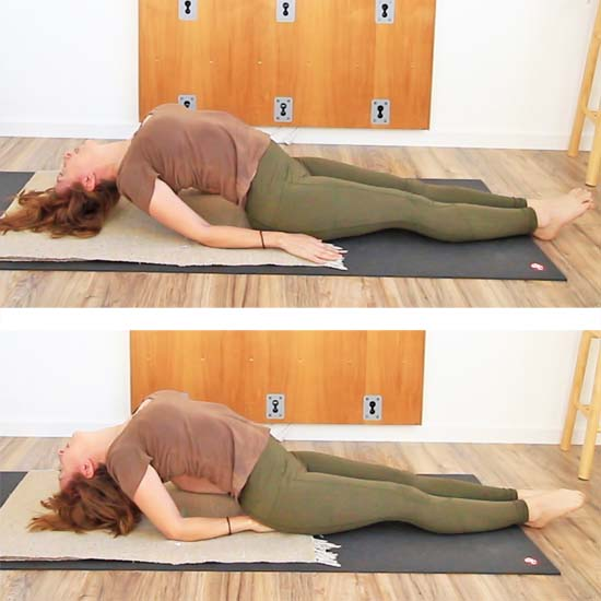 how to do fish pose