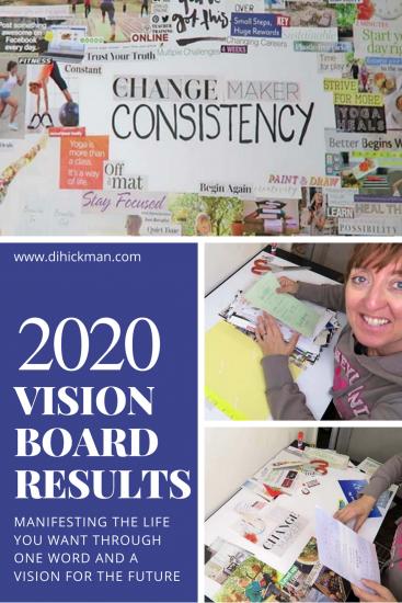 2020 Vision Board Results