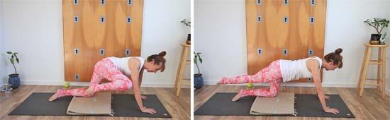 elbow to knee exercise
