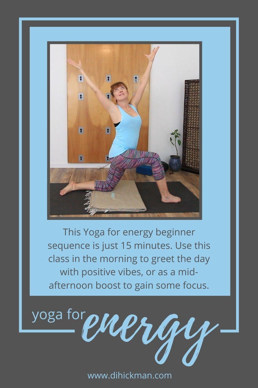 yoga for energy beginners flow