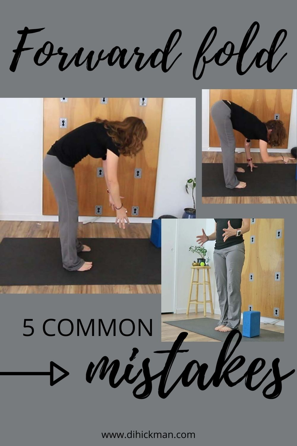 Forward fold, 5 common mistakes
