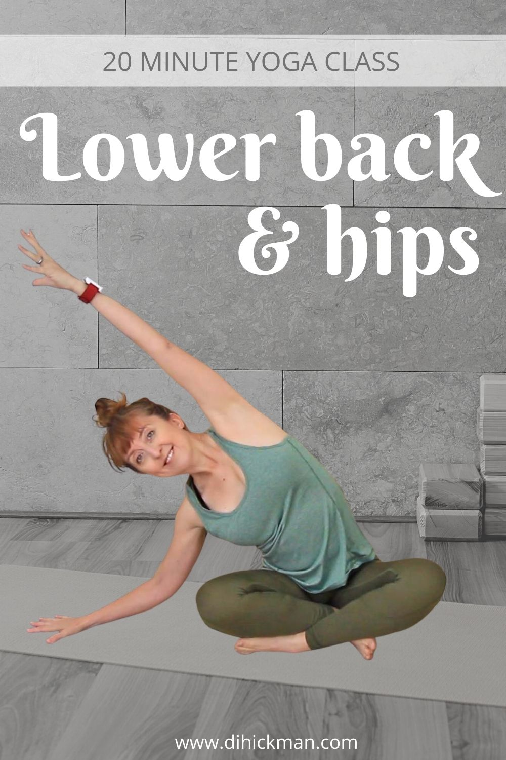 20 Minute Yoga Class for Lower Back & Hips