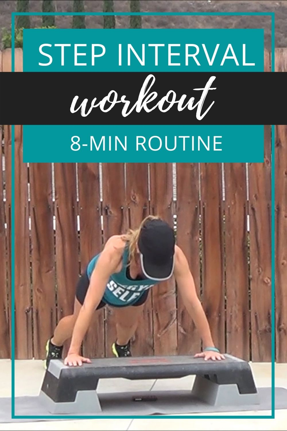 step interval workout 8-min routine