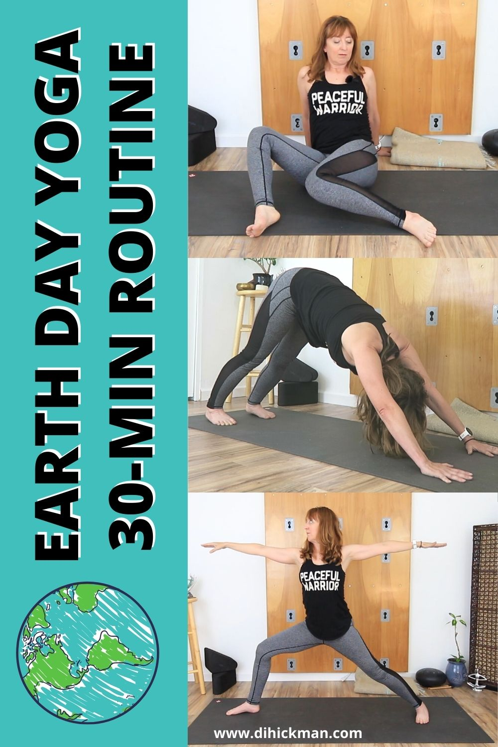earth day yoga 30-minute routine
