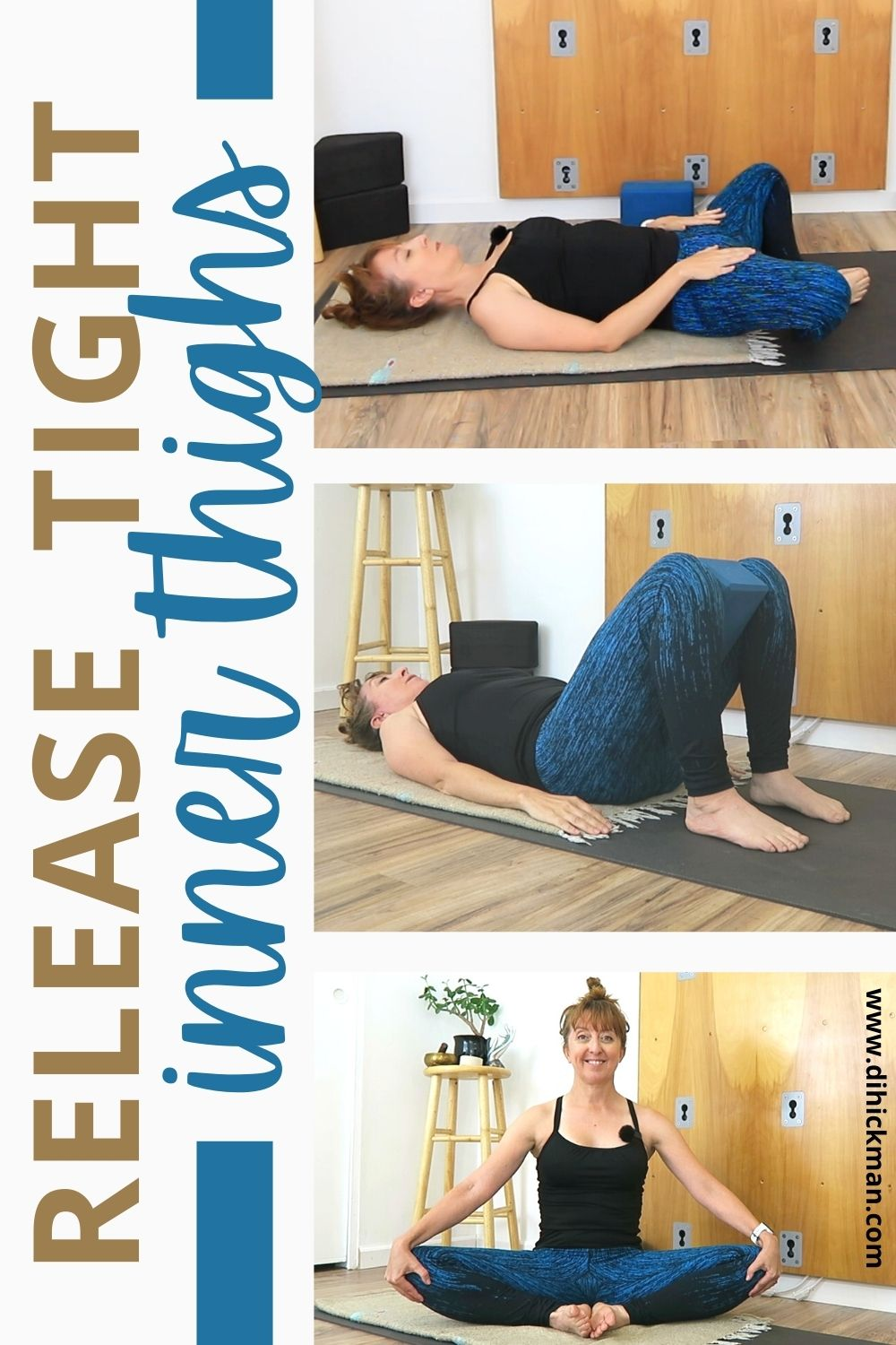 release tight inner thighs