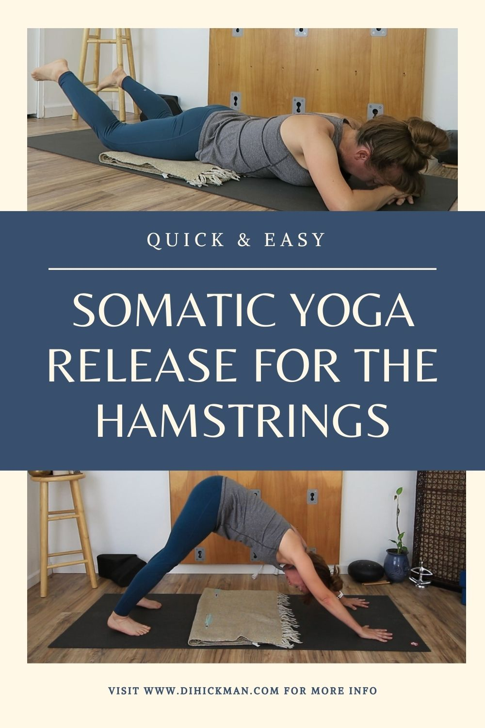 somatic yoga release for the hamstrings