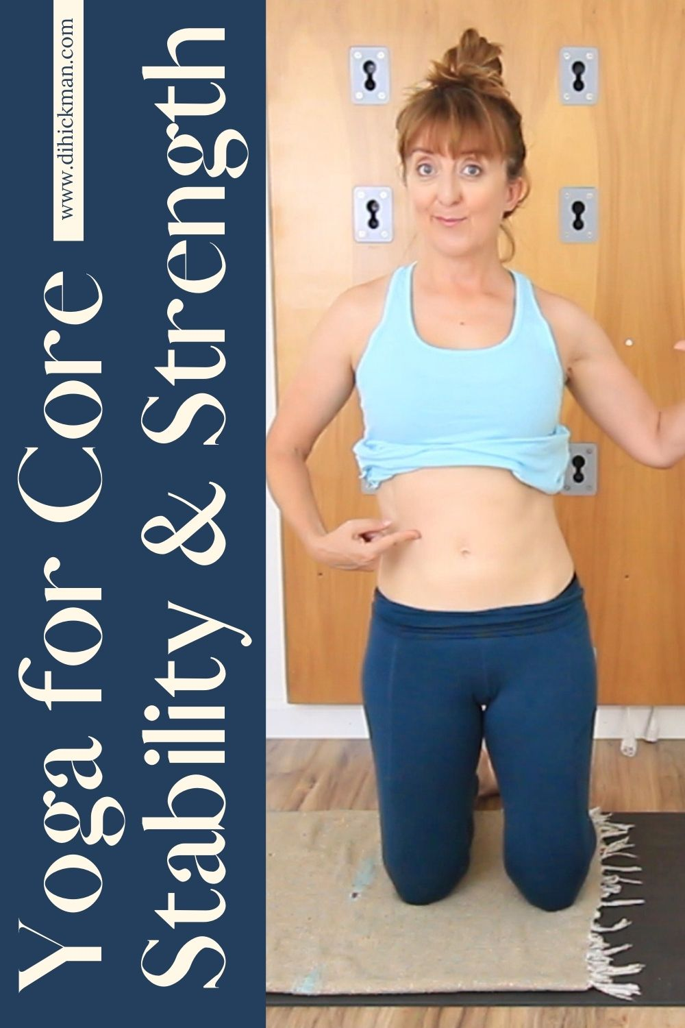 yoga for core stability & strength