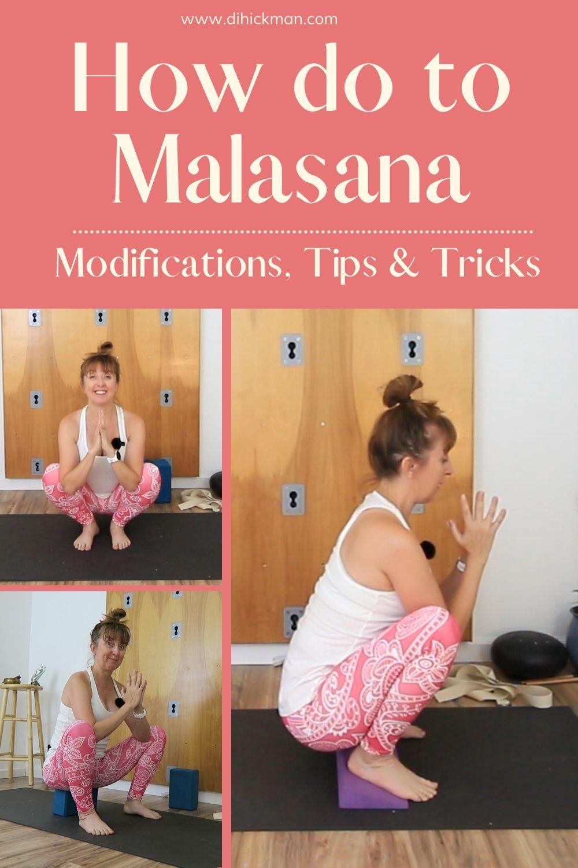 How to do malasana, modifications, tips & tricks