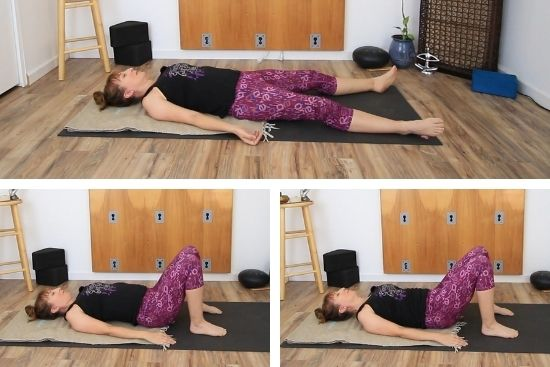 static and dynamic body scan lying on floor