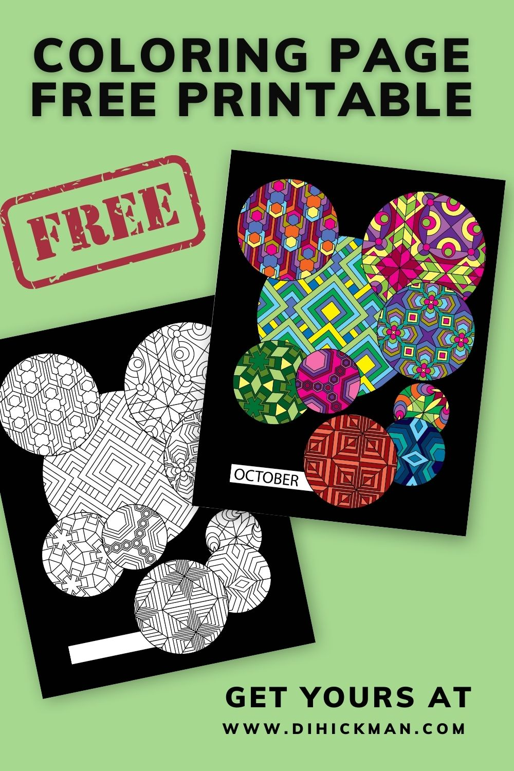 coloring page free printable